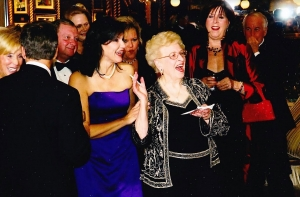 During the drawing for prize winners at the 2008 Lucy Jordan Ball, Jordan's name was drawn, much to her amusement.