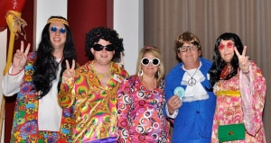 Banks Quarles has won many Cookoff awards, including Honorable Mention for Best Costume. Their team (from left to right) are: Patrick Hall, PJ Smitherman, Michelle Smitherman, Phil Smitherman and Paula Quarles.