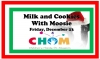 "Parents, don't miss...""Milk and Cookies With Moosie"""