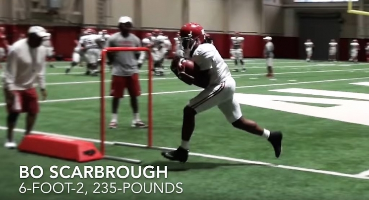 Why Bo Scarbrough's Quiet Offseason Could Lead to a Monster Year