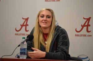 Tide's Nikki Hegstetter nominated for Senior CLASS Award (via Crimson Magazine)