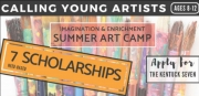 Seven Need-Based Scholarships Available to Kentuck's Summer Art Camp
