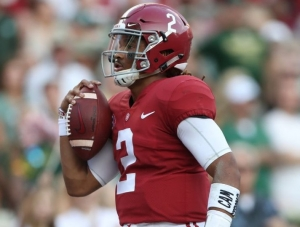 Hurts Continues to Shine as Alabama Football Rolls Past Colorado State