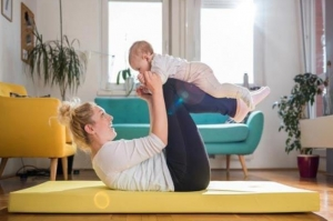 CSP Spotlight: Exercise with Your Baby