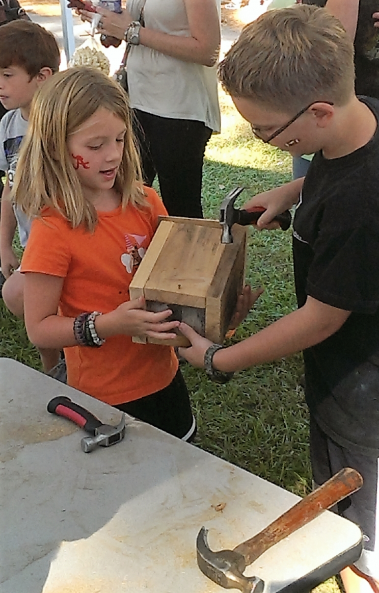 Kids can learn to build their own birdhouses at the 45th Annual Kentuck Festival of the Arts, which takes place Oct. 15-16.