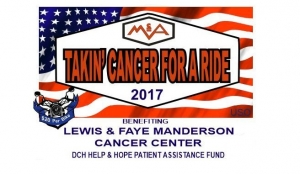 McAbee Construction's Takin' Cancer for a Ride is Saturday