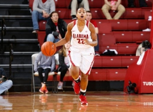 No. 10 Aggies rally late to defeat Tide women's basketball team (via Crimson Magazine)