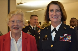 Alabama Governor Kay Ivey Appoints First Female Adjutant General
