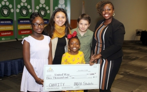 Alberta School of Performing Arts led the Tuscaloosa City Schools' student campaigns with $3,000 raised.