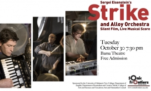 Things to Do: UA's Sonic Frontiers Presents Strike and Alloy Orchestra: Silent Film, Live Musical Score