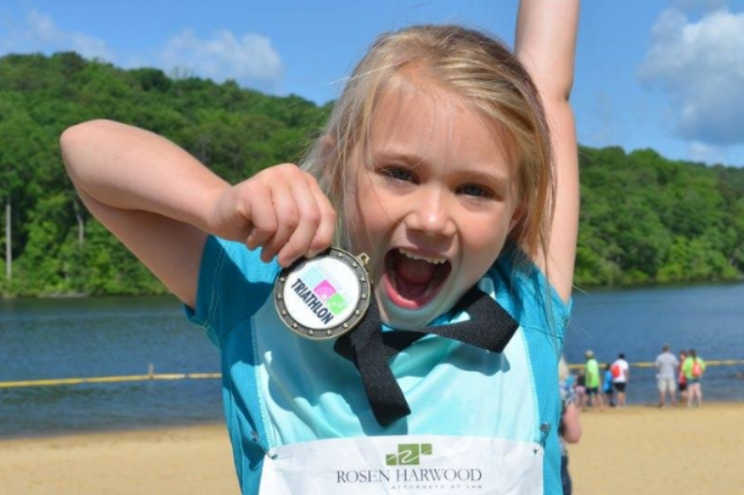 The Tuscaloosa Kids Triathlon includes swimming, biking, and running. It's open to children ages 5-16, and the goal is to encourage young people in the Tuscaloosa area to pursue healthy, active lifestyles. This year's event will be held on May 19 at Lake Lurleen State Park.