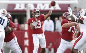 Alabama's Tua Tagovailoa a Finalist for the Heisman Trophy