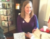 "Author Jennifer Horne was a part of Ernest & Hadley's opening in December and signed copies of her book, ""Little Wanderer."""