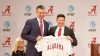 Brad Bohannon Introduced as Head Baseball Coach at Alabama