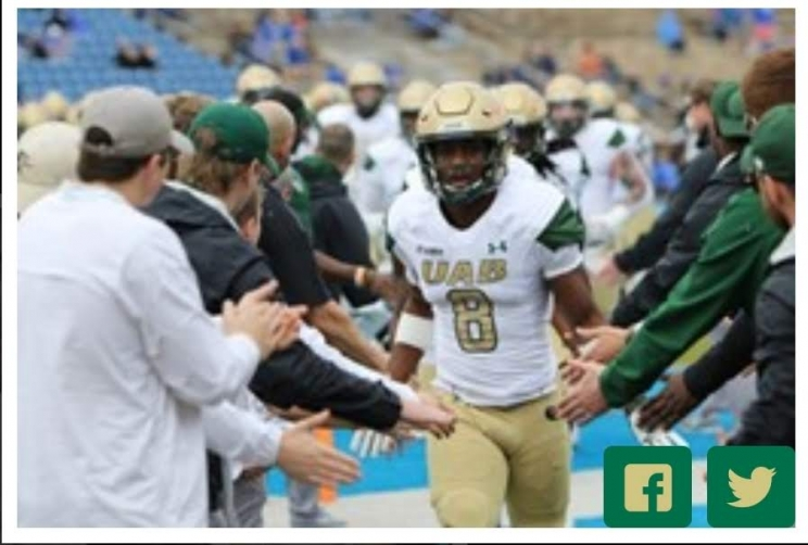 Fwd: UAB Heads to Tennessee for Final Non-Conference Game
