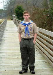 Logan Love earns rank of Eagle Scout