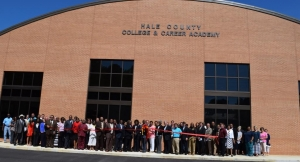 The Hale County College and Career Academy in Greensboro features new facilities, classrooms, administrative space and a new theater.