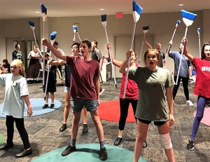 "The Tuscaloosa Children's Theatre will present ""Mary Poppins Jr."" Sept. 28-30 at the Bama Theatre in downtown Tuscaloosa. The cast is hard at work in rehearsals for the show – a musical based on the classic Disney movie and the Broadway show."