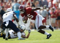 No. 1 Crimson Tide rolls past Golden Flashes 48-0 (via Crimson Magazine)