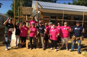More than a dozen Spiller Furniture employees recently volunteered with Habitat for Humanity Tuscaloosa. Habitat is seeking more volunteers (individual and groups) to help with builds over the summer months.