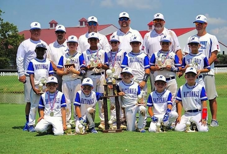 Northport Nationals 8U Finish Strong at Dizzy Dean Little League Championship Series