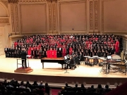 April 2017 Photo of the Month: Alabama Choir School at Carnegie Hall