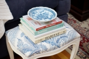 Woodbank Lane: Recovering a Thrift Store Cushioned Stool