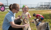 Kids enjoyed a special petting zoo on Saturday, May 19.