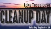 City of Tuscaloosa to Host Ninth Annual Lake Clean Up Day