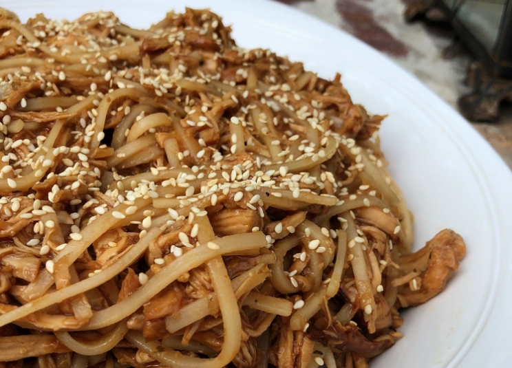 DCL Recipes: Delicious Honey Garlic Chicken and Sweet, Crunchy Peanut Butter Stacks