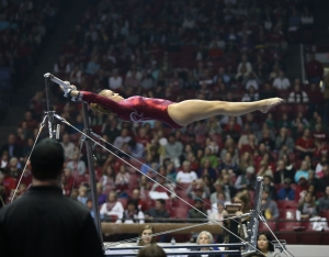 Crimson Tide gymnasts set for weekend meets against Missouri, Auburn