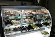 An impressive variety of truffles are offered at the Café. Any and all will satisfy the sweet tooth.