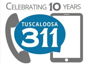 City of Tuscaloosa Celebrates 311's 10th Anniversary