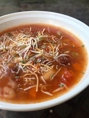 DCL Recipes: Smoked Sausage and White Bean Soup