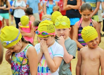 The annual Kids Triathlon, which includes swimming, cycling and running, is set for May 21.