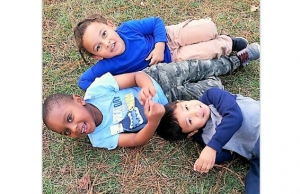 Beaux William playing with friends Sam Barnett and Cayden Scott at Bowers Park in Tuscaloosa. Playdates will help your children burn much needed energy during their holiday break, and they can also be your saving grace.