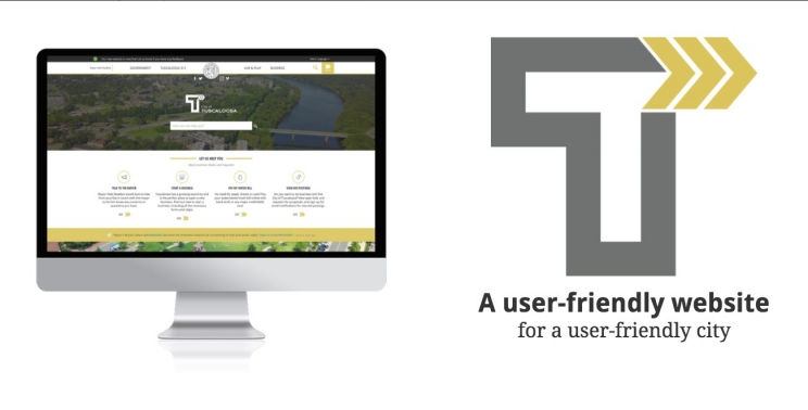 City of Tuscaloosa Launches Redesigned Responsive, Reactive Website