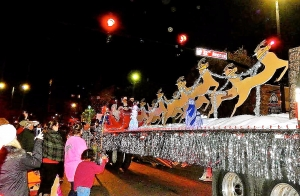 Thousands of area residents come out each year to see the Christmas parade – the largest of its kind in West Alabama.