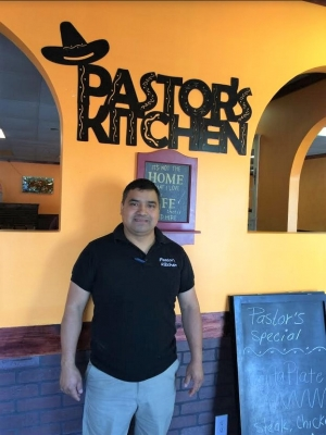 Pastor's Kitchen Owner Pastor Garcia says he's dreamed of owning his own restaurant since the age of 17.