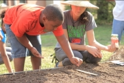 School Garden Classrooms Open to the Community: DCGP Hosts Open Houses