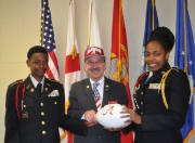 American Legion National Commander Welcomed by Central High School