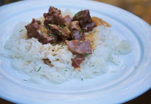 DCL Recipes: Slow Cooker Beef Tips in Gravy and Cheddar Bay Biscuits
