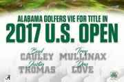 Four Alabama Men's Golf Alumni Set to Play in 2017 U.S. Open