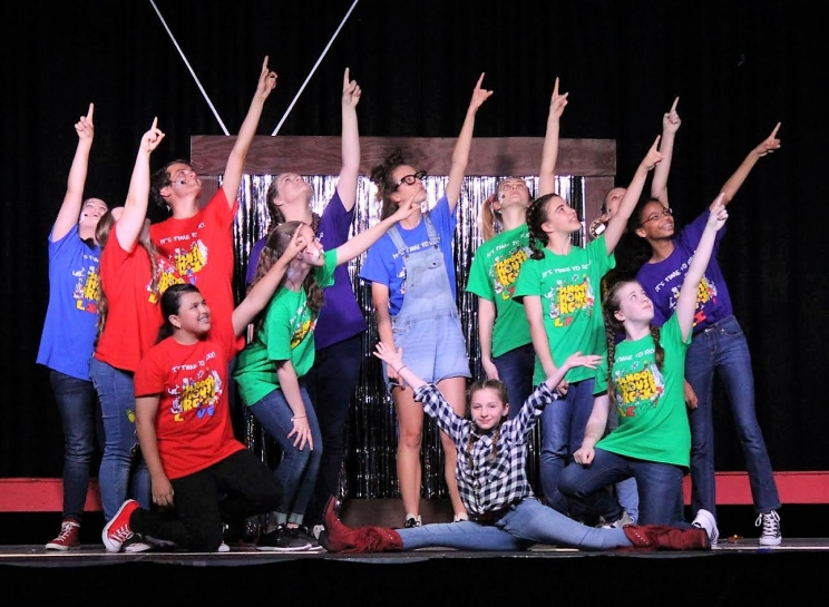 "Holy Spirit Drama Students: ""School House Rock, Jr."""