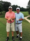 NRYC 2017 Match Play Champion Mike Donnelly (left) with runner up Mark Hearing (right) on May 27, 2017.