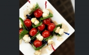 DCL Recipes: Caprese Salad Skewers and Skillet S'mores