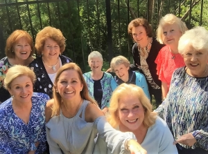 My dear friend Genny, seated on the right, is one of my gardening buddies. She contracted a tick-borne illness. Please, everyone, be aware of the dangers and protect yourselves.