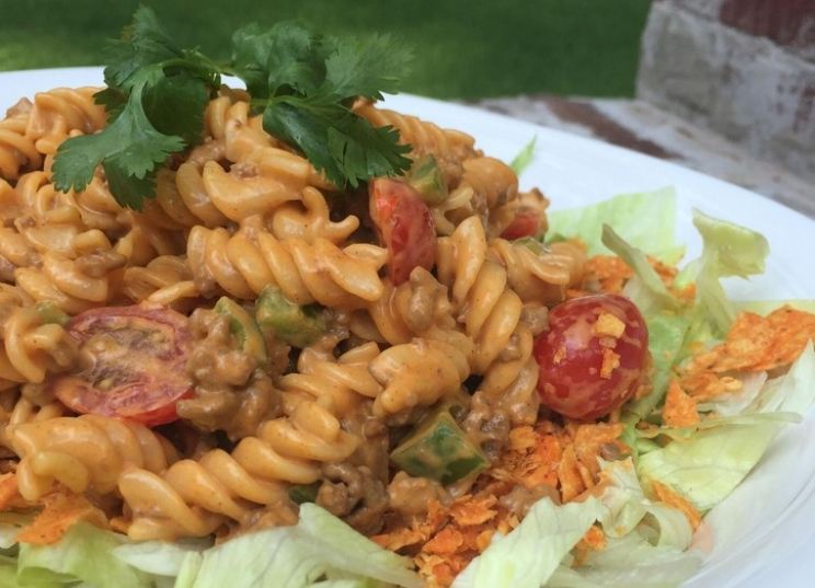DCL Recipes: Taco Pasta Salad and Bourbon Slushies