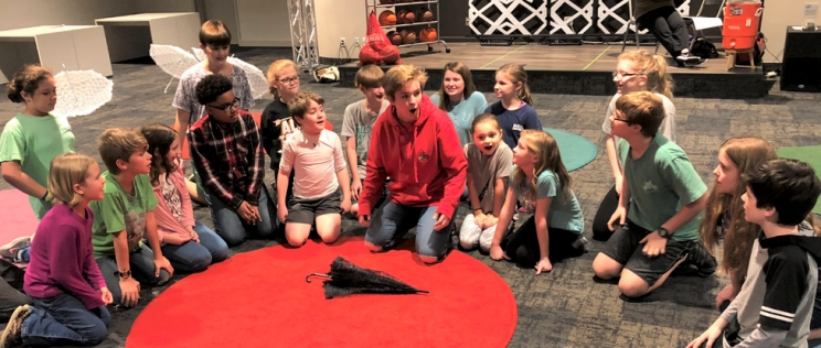 The Tuscaloosa Children's Theatre cast of Peter Pan JR. is hard at work in rehearsals for the show – a musical on the famous novel by J.M. Barrie.
