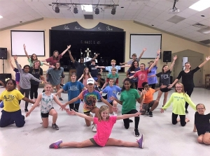 "The Tuscaloosa Children's Theatre will present ""Aladdin, Jr."" Oct. 6-8 at the Bama Theatre in downtown Tuscaloosa. The cast is hard at work in rehearsals for the show – a musical based on the classic Disney story ""Aladdin."""